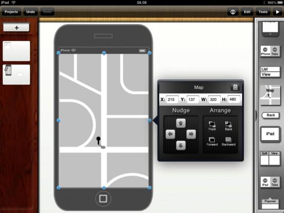 iMockups för iPad