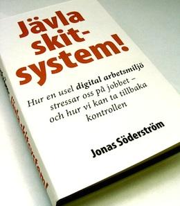 Omslaget till boken Jävla skitsystem!