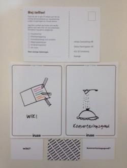 Visualisering av begreppen wiki och konverteringsgrad