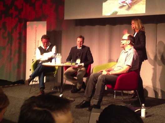 Paneldebatt på Marknadsföringsdagen 2013 (Foto: Johan Berndtsson)