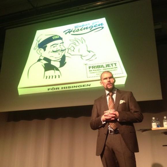 Fredrik Olsson på Marknadsföringsdagen 2013 (Foto: Johan Berndtsson)