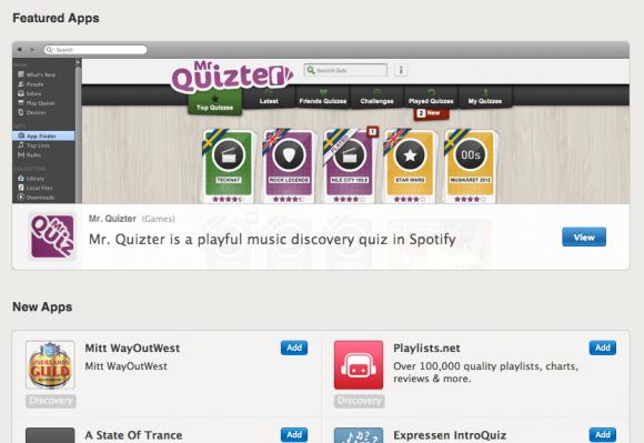 Spotify - App finder