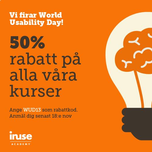 Vi firar World Usability Day!