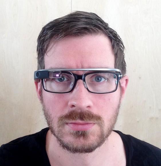Jon med Google Glass