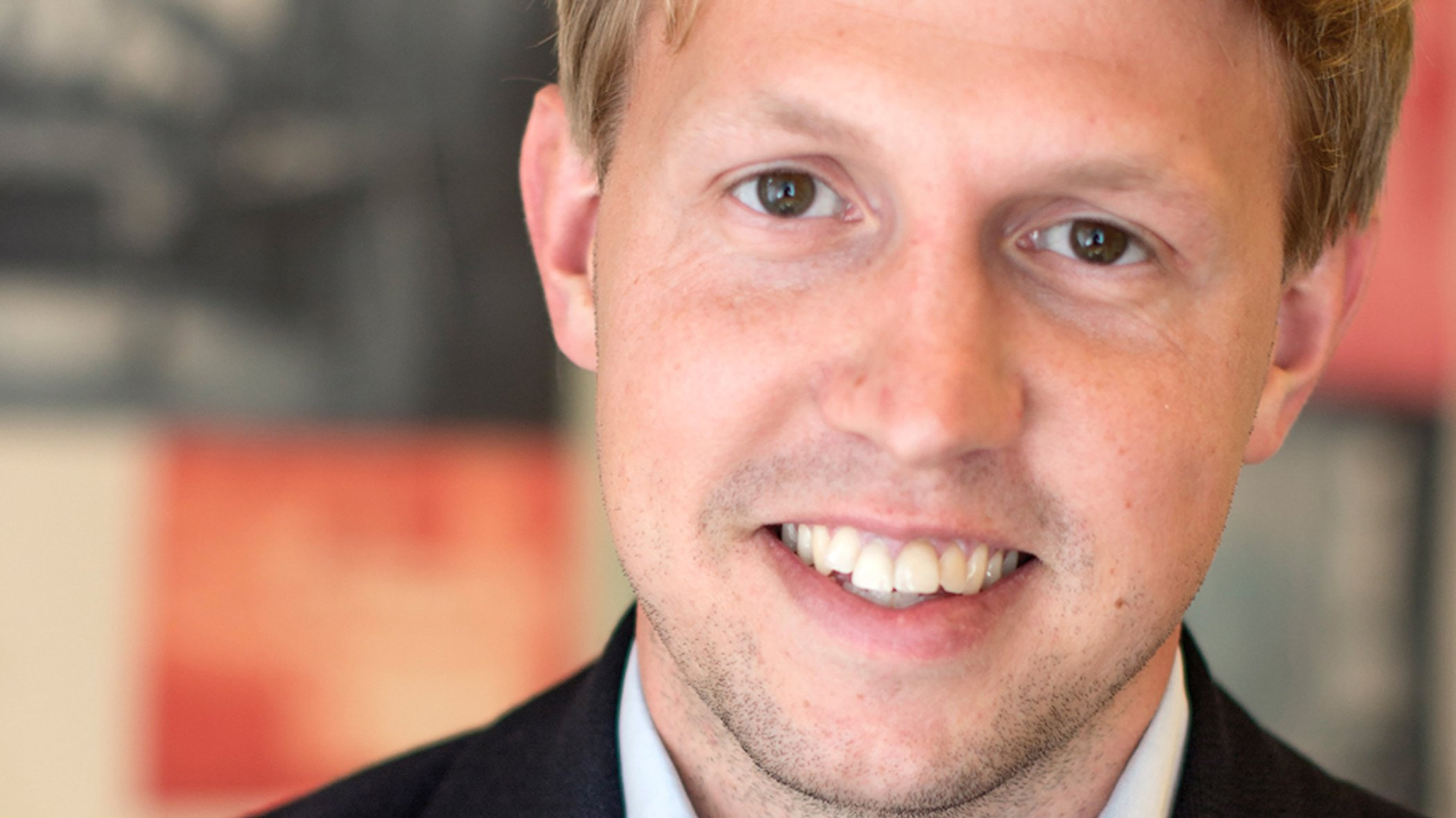Daniel Kjellén, vd och grundare på Tink.
