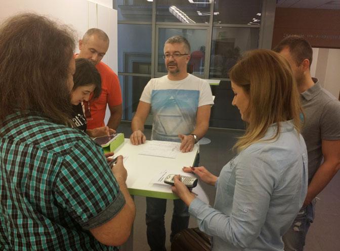 Självorganiserande talare på Agile by Example