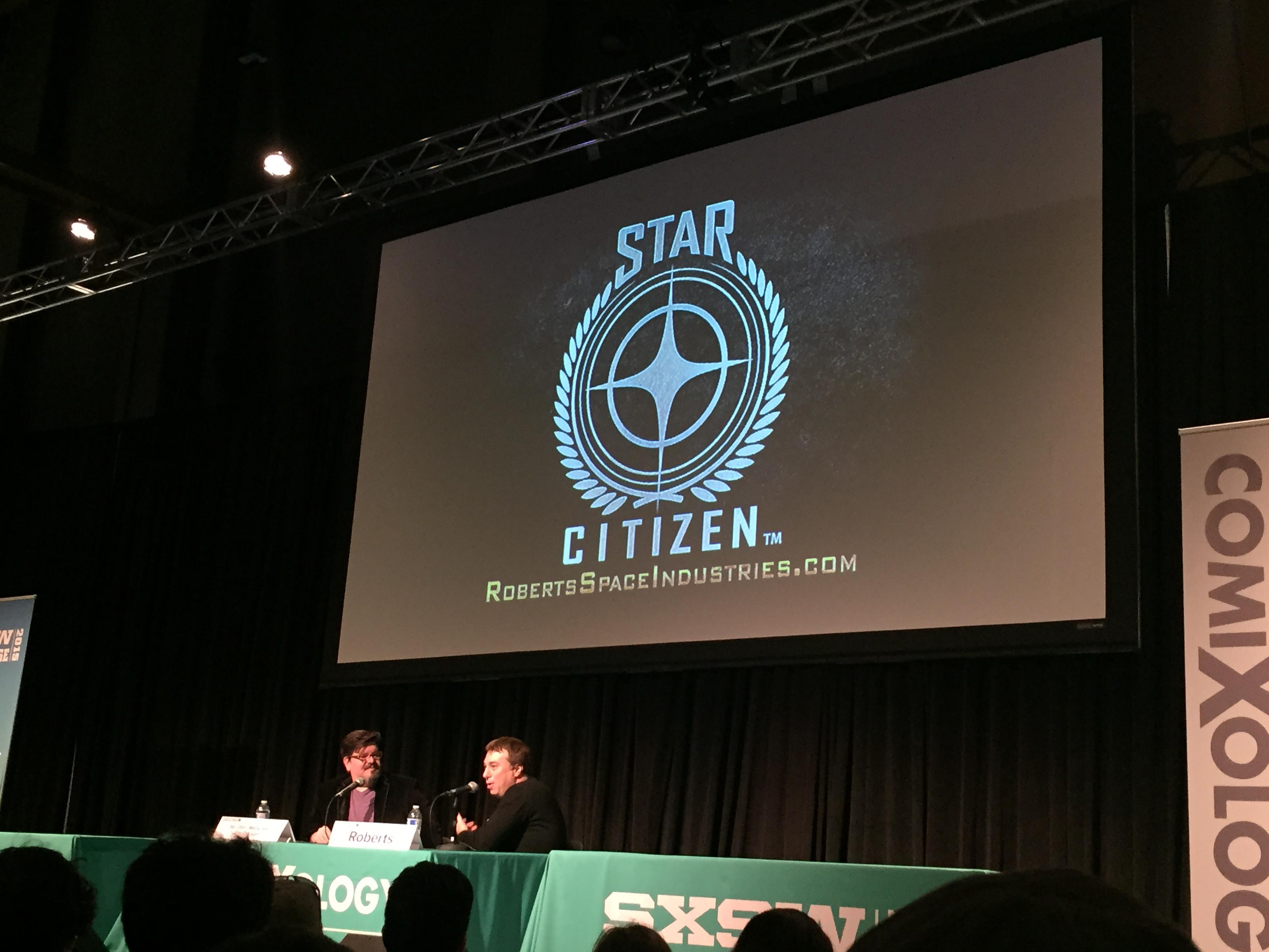 Chris Parker på SXSW2015, Austin.