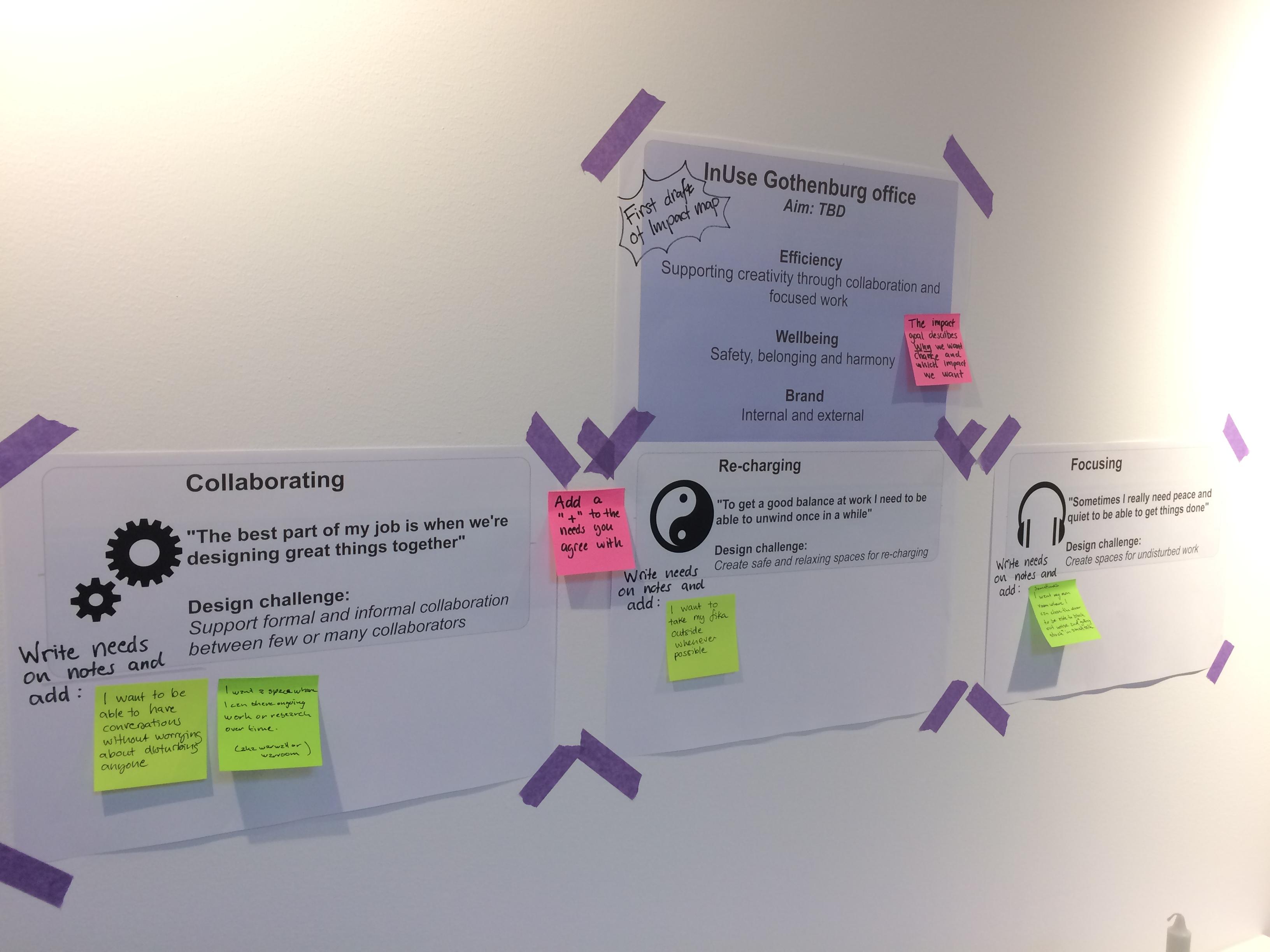 Första utkastet till effektkarta för det nya Göteborgskontoret