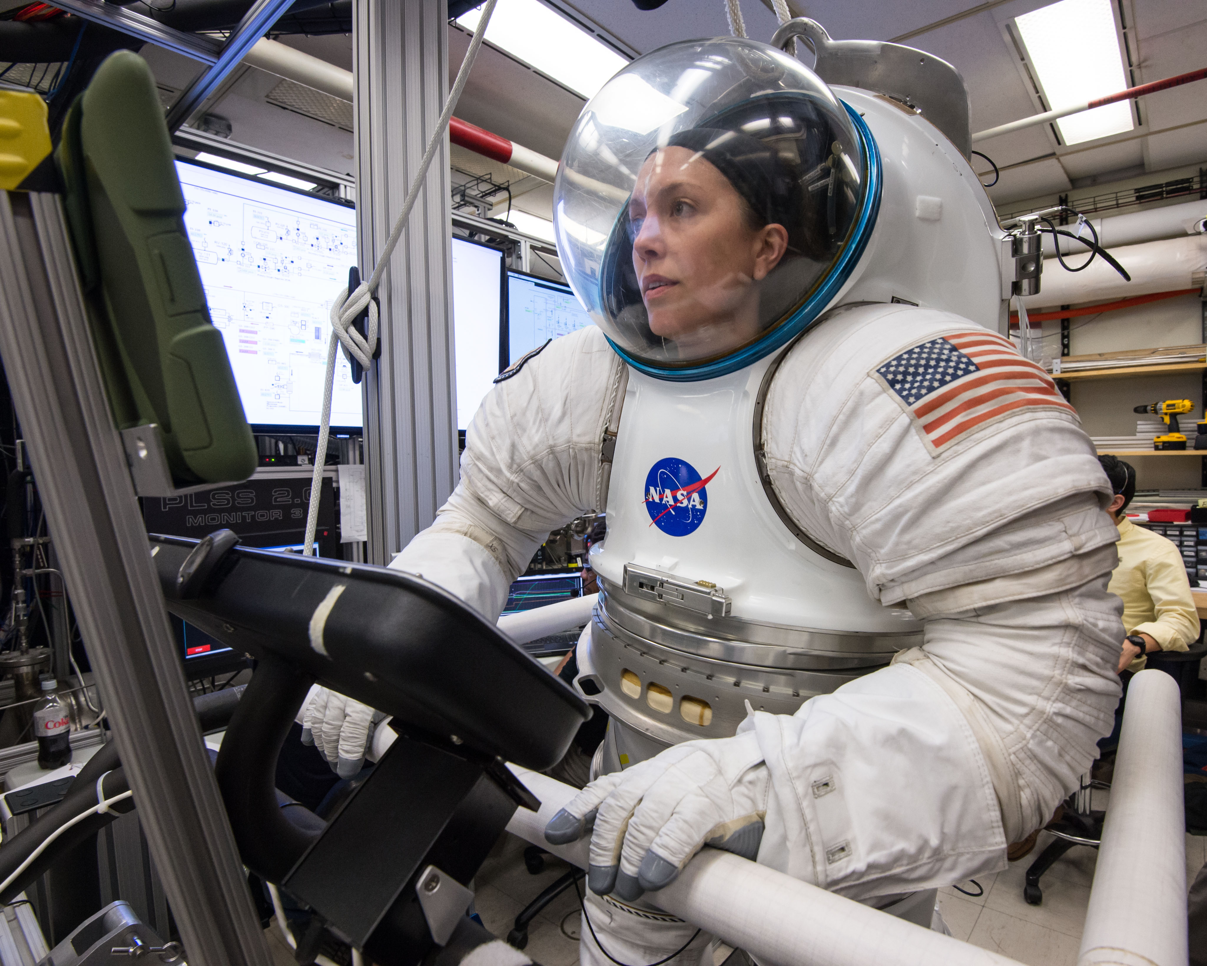 NASA Space suit engineer Lindsay Aichison